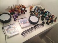 PS3 Skylanders and Skylander Giants Portals, games,cards and 35 giants.