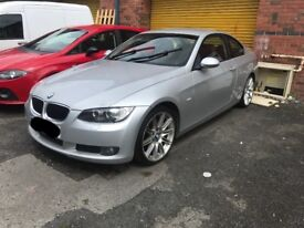 2008 BMW Coupe 320I Red Leather