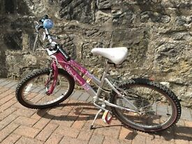 Rayleigh Krush girls bike