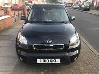 2010 KIA SOUL 2 1.6 CRDi AUTOMATIC BLACK 5 DOOR IN EXCELLENT CONDITION