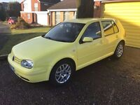 VW Golf GT TDI 130 Colour Concept Limited Edition Very Rare