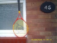 A Tennis Racket for sale a Dunlop