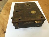 Victorian rim lock 175mm X 140mm