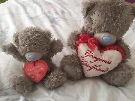 2 Me to you valentines bears.