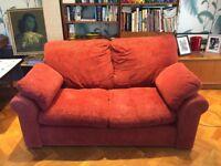 FREE double sofa - 100cm deep x 155cm long