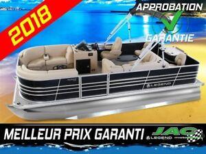 2018 Legend Boats Ponton Bayshore Flex Mercury 25 ELPT Bateau **