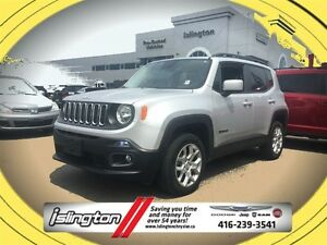 2015 Jeep Renegade NORTH - 4x4, 2.4L I-4 w/ REMOTE START, 17 RIM