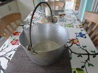 Fruit stewing / jam making pot. Large. Good condition