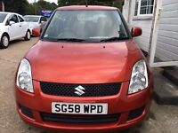 Suzuki Swift 1.3 GL 5dr£2,040 2008 (58 reg), 77,005 miles Manual Petrol ONE PREVIOUS OWNER