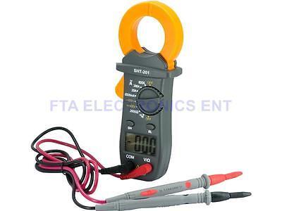 Digital Electronic Ac Dc Voltage Clamp Meter Multimeter Current Volt Tester Tool