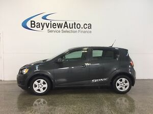 2014 Chevrolet SONIC LS- AUTO! A/C! ON STAR! LOW KM! GAS BUDDY!