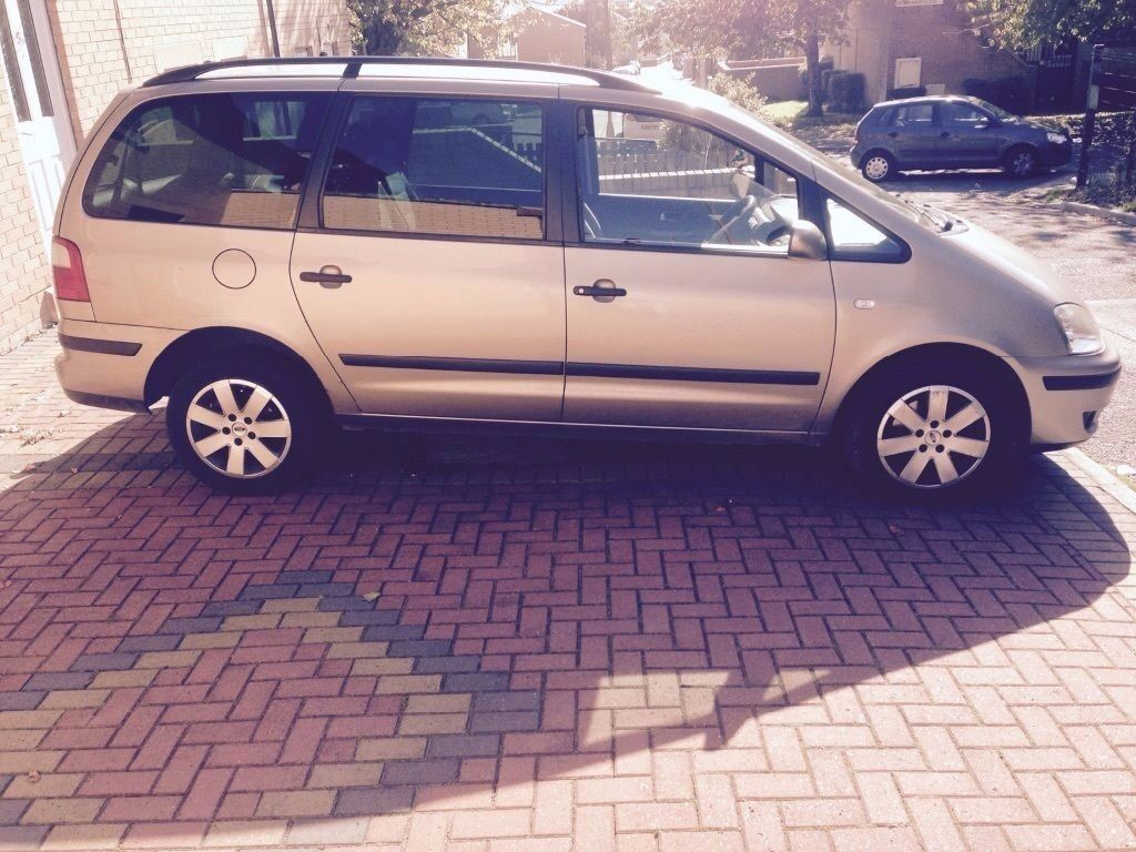 02 39 ford galaxy zetec 1 9 tdi automatic 7 seat diesel auto clean new timing belt water pump. Black Bedroom Furniture Sets. Home Design Ideas
