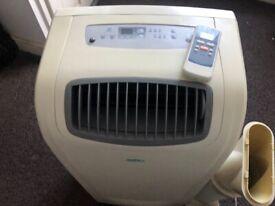 daitsu 12000BTU Portable Air Conditioner/Dehumidifier/Fan/Hose Remote