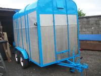 Horse Box/Cattle Trailer 10' x 5 1/2' (Price Drop £550)