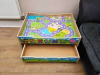 Toy table with drawer
