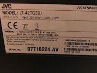 42 inch JVC TV