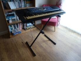 Panasonic electric keyboard with stand