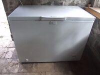 Hotpoint White Chest Freezer Model CF1A 250H