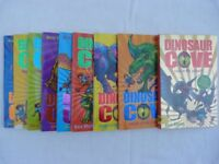 9 Dinosaur Cove Books inc 'Lost in the Jurassic' by Rex Stone