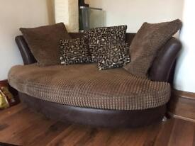 Leather / Faux Sofa