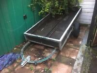 8ft x 3.5ft motorcycle trailer