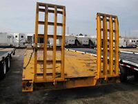 1982 J.C. Trailers 20 TON EQUIPMENT TRAILER