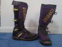Rino motocross boots size 40