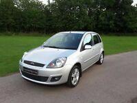 FORD FIESTA ZETEC CLIMATE 1.4 TDCI 2008, ONE OWNER WITH ONLY 54,570 MILES.