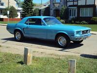 Fully Restored 68 Mustang GT Re-creation