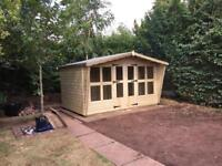12x8 tantalised summer house 22mm t&g