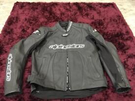 Ladies alpinestars motorbike jacket.