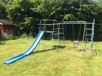 TP claiming frame slide and swings