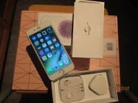 Apple iphone 6 16GB Silver Unlocked smartphone Boxed excellent neat condition wit touch ID