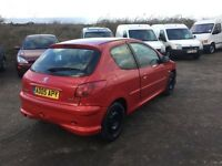 Diesel 2005 reg Peugeot 206 good driver very economical ANY TRIAL WELCOME came in a px today