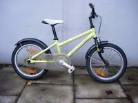 Kids Bike by Author, Green, Ali Frame, 16 inch Wheels for Kids 5+ yrs, JUST SERVICED/CHEAP PRICE!!!!