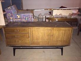 Set of tables and drawers