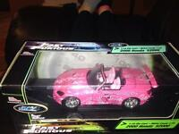 Selling the fast and furious 1:18 diecast 2000honda