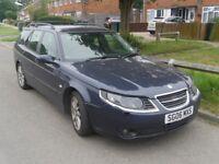 2006 Saab 9-5 1.9TiD Vector Sport Diesel Estate Damaged Repairable Salvage