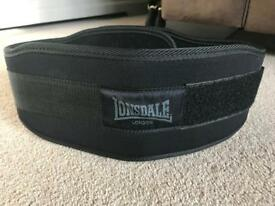 Lonsdale weights belt