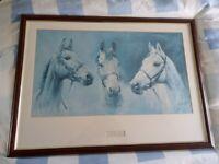We Three Kings framed print by Susan Crawford