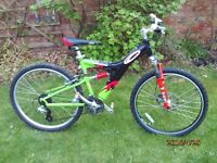 CARRARA BANSHEE MTB ONE OF MANY QUALITY BICYCLES FOR SALE