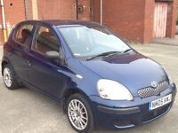 TOYOTA YARIS 1.4 DIESEL T3 5DR,HPI CLEAR,1 OWNER,TOYOTA SERVICE HISTORY,ALLOY WHEELS,30 ROAD TAX