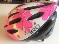 Girls Giro bike helmet