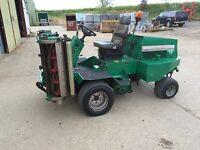 """Ransomes Highway 213 Diesel Triple gang Cylinder Mower. Kubota engine 84"""" CUT"""