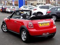 MINI CONVERTIBLE 1.6 ONE 2d 98 BHP * Great Value Stylish Convertible * (red) 2011