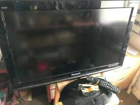 Panasonic Viera 32 Inch HD TV with built in Freeview. TX- L32s10BA