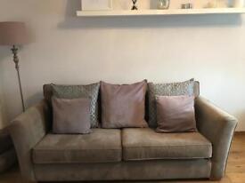 3 Seater Sofa by Schreiber in mink