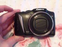 Canon Powershot SX130is digital camera & protective case