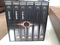 Star Trek box set. The Movies VHS collection.