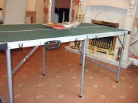 Indoor Table Tennis Table, Bats 3 balls , Net & fittings